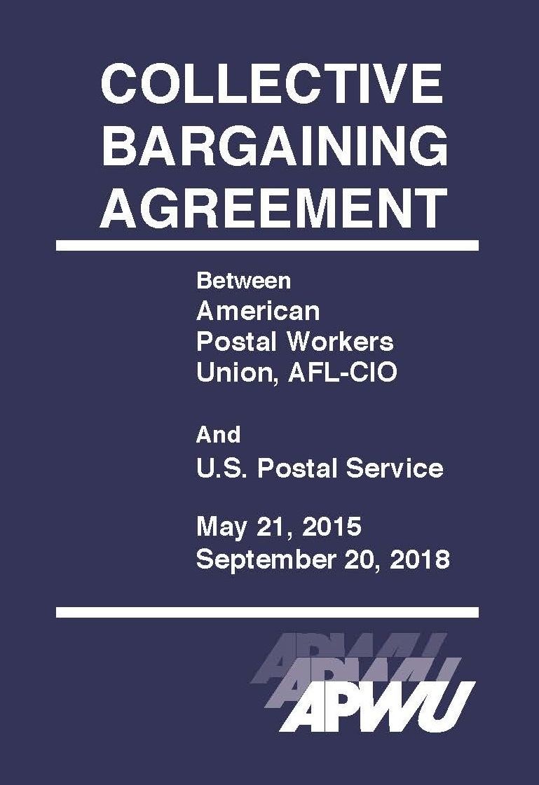2015 2018 Contract Available To Order Apwu
