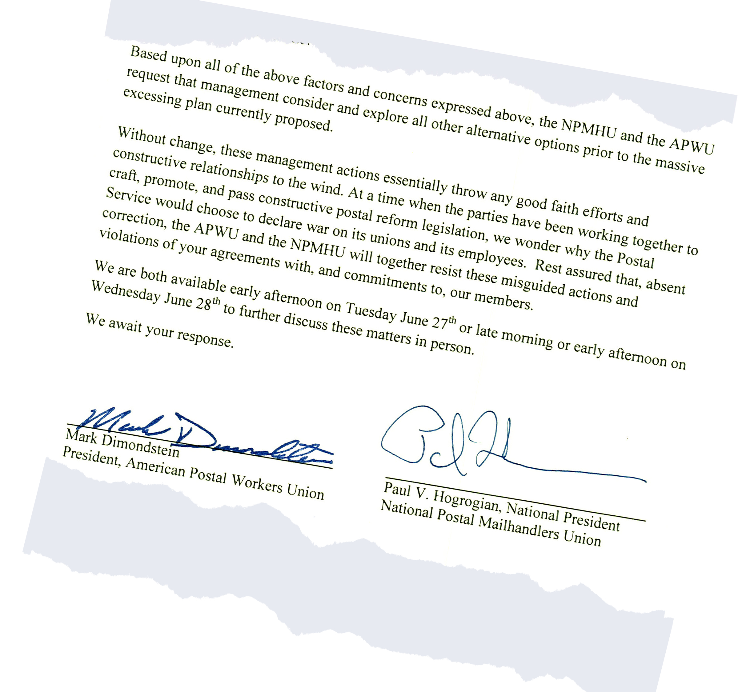 Apwu Usps Moving Ahead With Misguided Plans To Gut Workforce By