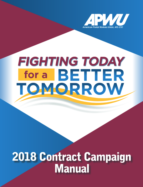 2018 Contract Campaign Apwu