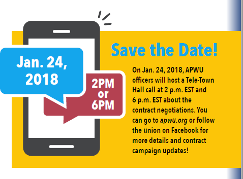 Apwu Prepares For 2018 Contract Negotiations Apwu
