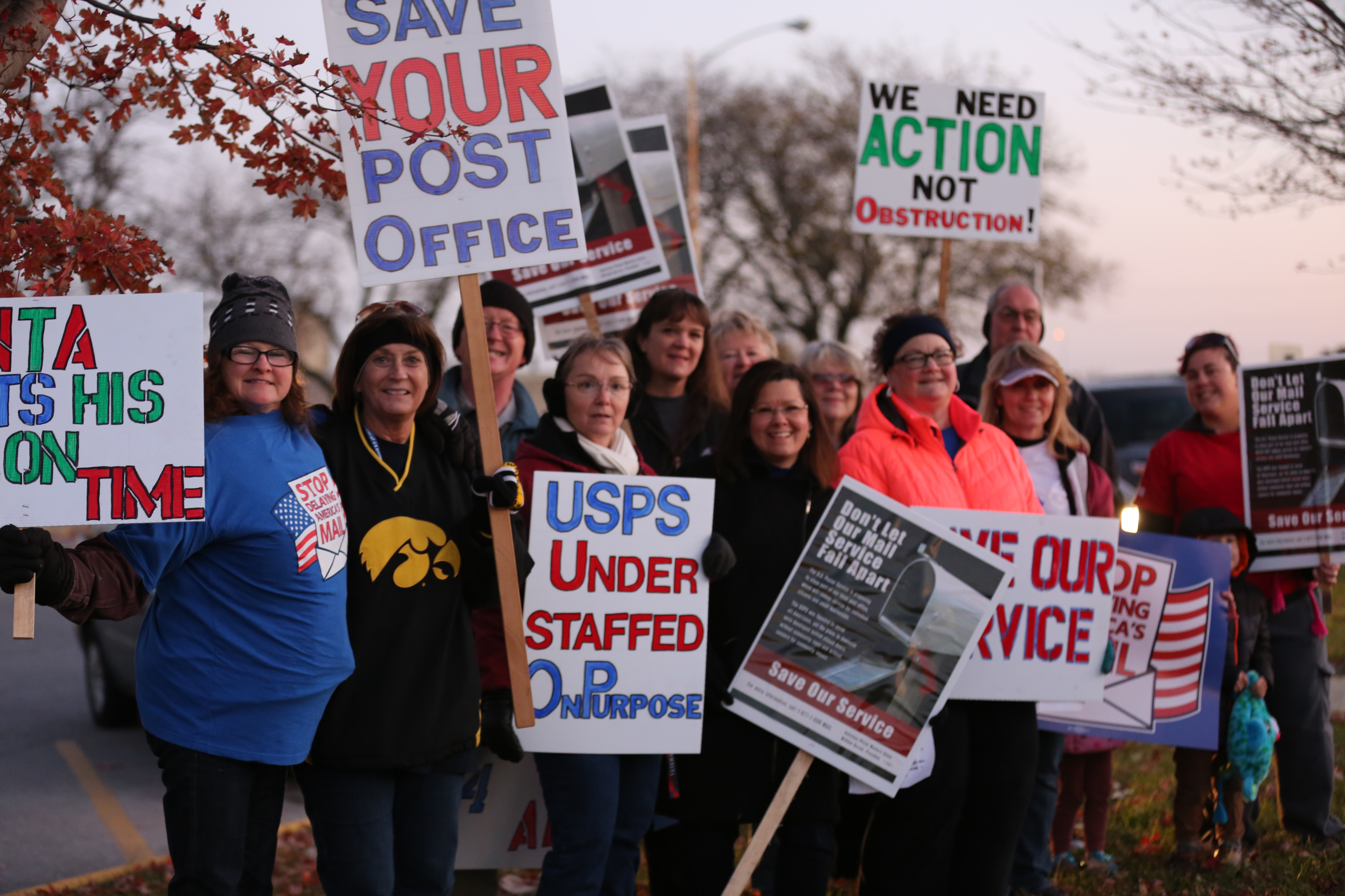 Protest News: Protests Against Job, Service Cuts Continue